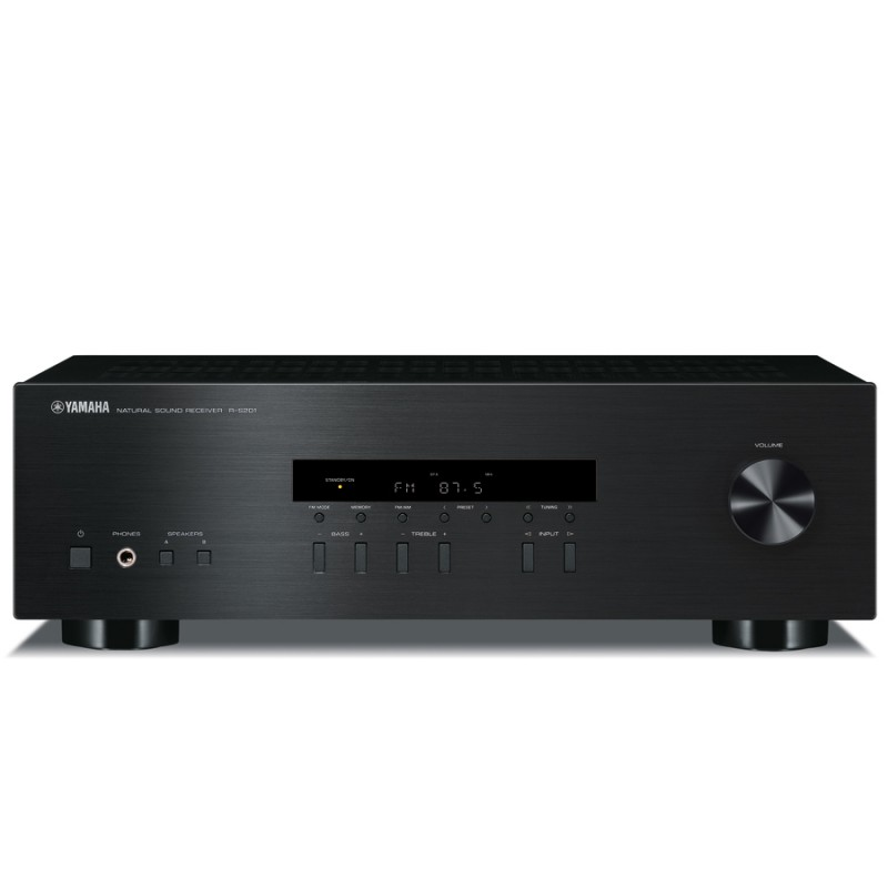 yamaha r s201 stereo am fm receiver hi fi at vision hifi. Black Bedroom Furniture Sets. Home Design Ideas