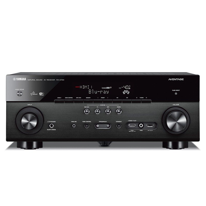 Yamaha rx a740 7 1 aventage home theatre receiver home for Yamaha multi zone receiver