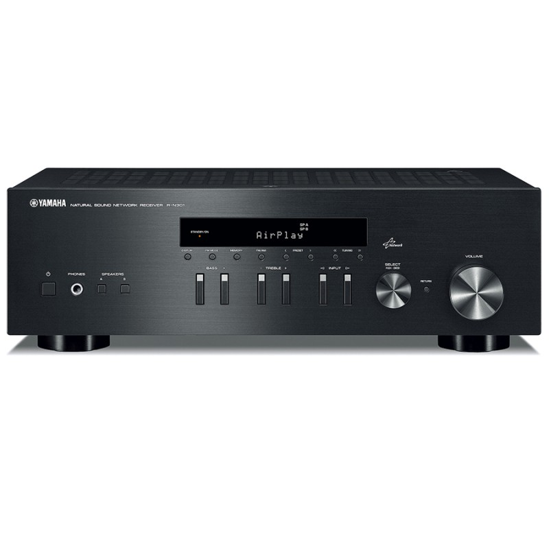 yamaha rn301 stereo receiver hi fi at vision hifi. Black Bedroom Furniture Sets. Home Design Ideas