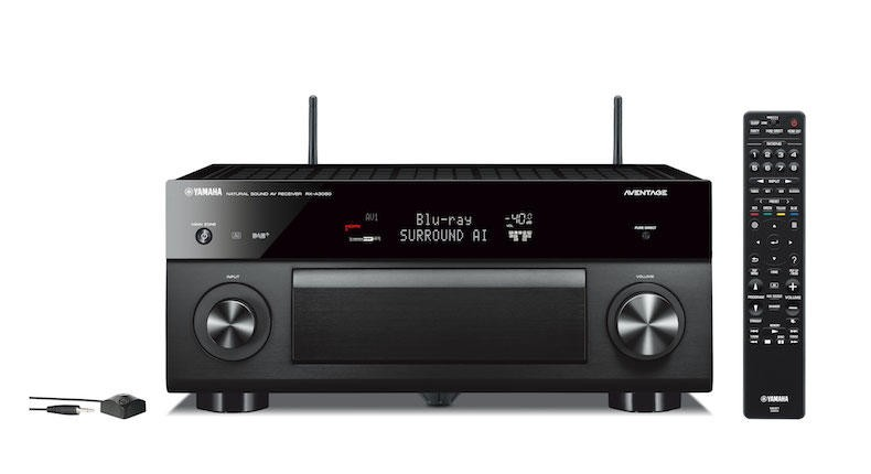 yamaha rx a3080 aventage home theatre receiver home. Black Bedroom Furniture Sets. Home Design Ideas