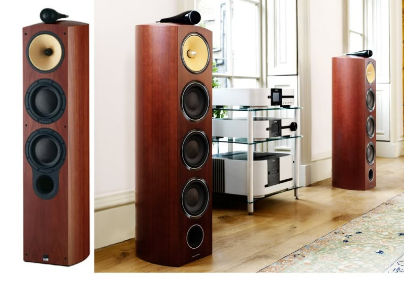 bowers wilkins 803 diamond rosenut discontinued speakers at vision hifi. Black Bedroom Furniture Sets. Home Design Ideas