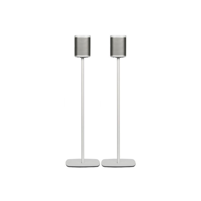 flexson sonos play1 floor stand pair speakers at vision hifi. Black Bedroom Furniture Sets. Home Design Ideas