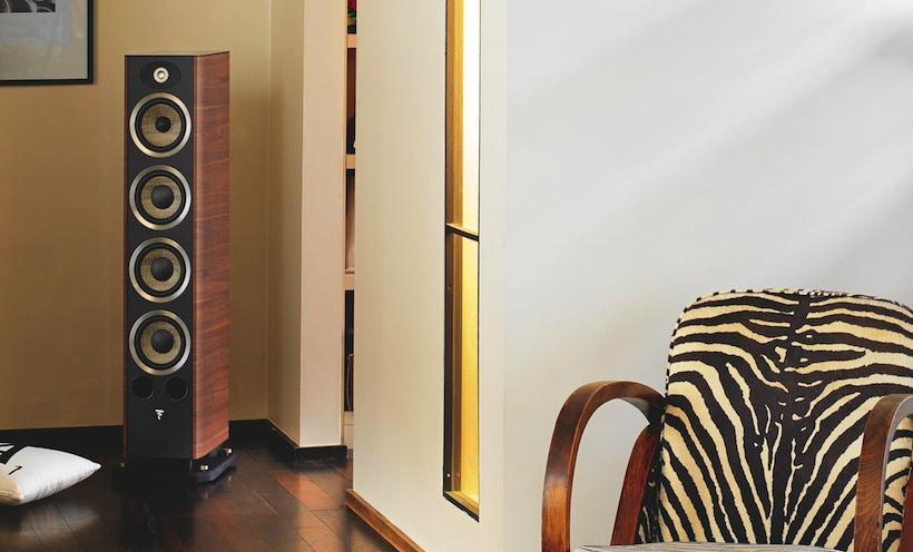 Focal JM Labs Aria 936 floor stand speaker - Walnut (Vinyl