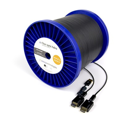 Celerity DFO-1000P HDMI over fibre optic cable. 304.8 metres