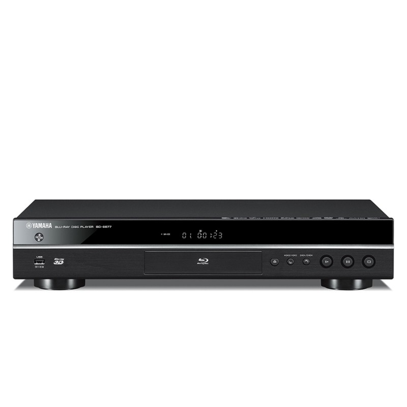 yamaha bds677 blu ray dvd player home cinema at vision hifi. Black Bedroom Furniture Sets. Home Design Ideas