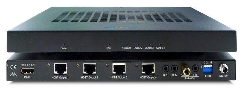 BlueStream HSP14AB 1 HDMI in to 4 HDBaseT out, splitter