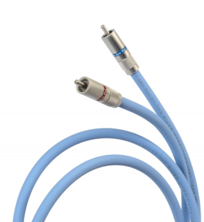 Van Den Hul The River Hybrid RCA interlink cable 1 metre