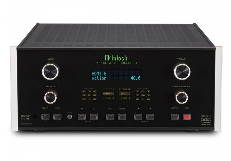 McIntosh MX160 A/V Pre-amp processor