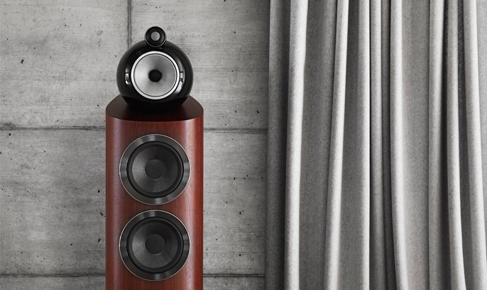 Bowers & Wilkins 803D3 Floor Stand Speaker Pair
