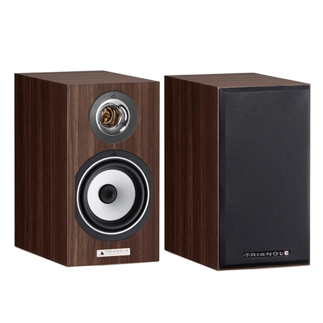 Triangle Esprit EZ Titus bookshelf speakers (walnut)