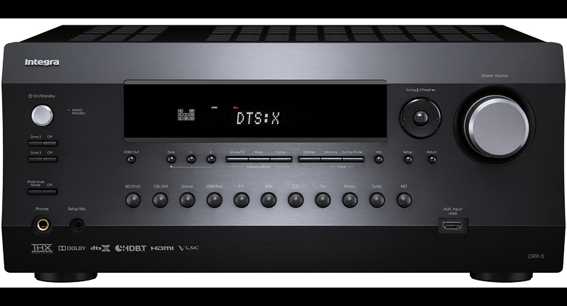 Integra DRX-5.3B 7.2 Network THX AV Receiver