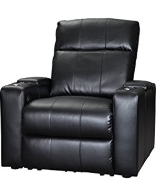 Prestige single seat electric leather recliner