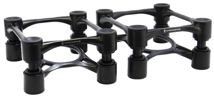 IsoAcoustics Aperta 100 speaker isolation stands