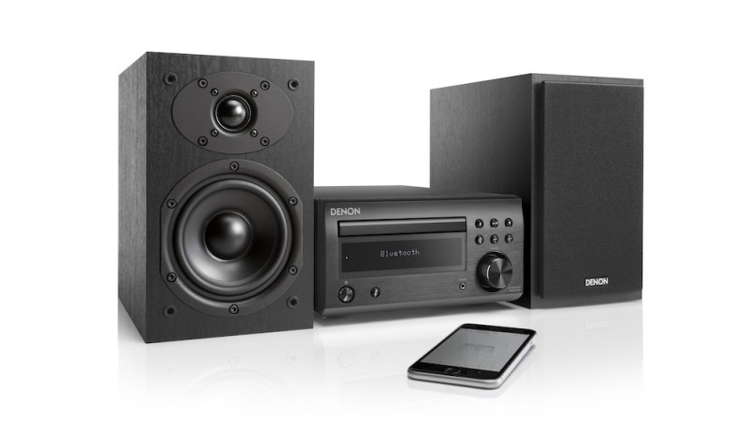 Denon DM41 Mini System with Bluetooth