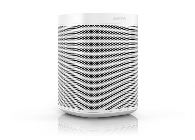 2 x Sonos One: Smart Speaker for Streaming Music (White - PAIR)