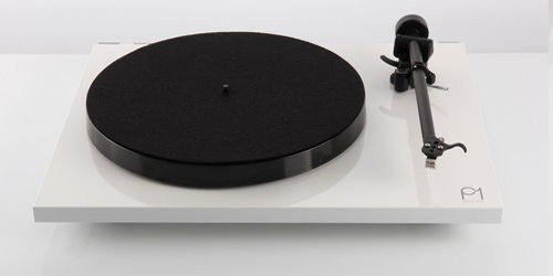 Rega Planar 1 Turntable - White - One Only Ex Display (superficial scratches to lid)