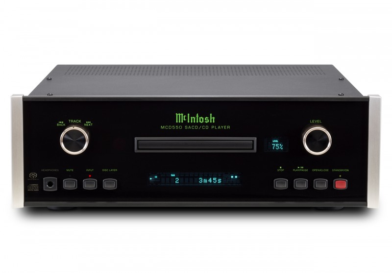 McIntosh MCD550 CD/SACD player