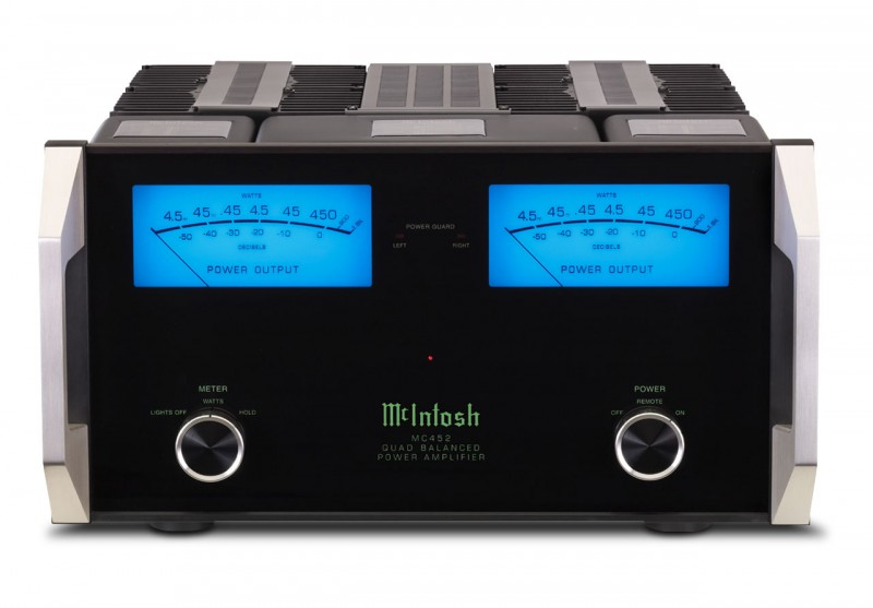 McIntosh MC452 power amplifier (ex display) - SOLD NO LONGER AVAILABLE