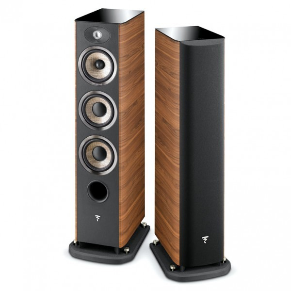 Focal JM Labs Aria 926 floor stand speaker - Walnut (vinyl veneer)