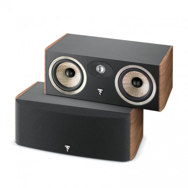 Focal JM Labs Aria CC900 Centre Speaker Walnut (vinyl veneer)