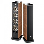 Focal JM Labs Aria 936 floor stand speaker - Walnut (Vinyl Veneer)