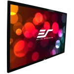 Elite ezFrame Acoustic 4K - Fixed Flat Acoustically Transparent Projection Screen 16:9 / 110 inch