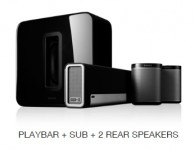 SONOS THEATRE 5.1 + PLAYBAR WALL BRACKET