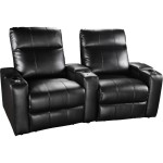 Prestige 2 seat electric leather recliner