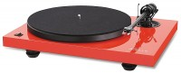 Music Hall MMF-2.2 turntable gloss red (ex display)
